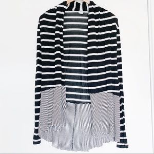 Three Dots Open Front Cardigan